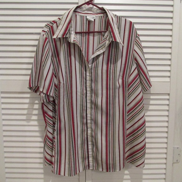 East 5th Tops - East 5th Woman striped blouse